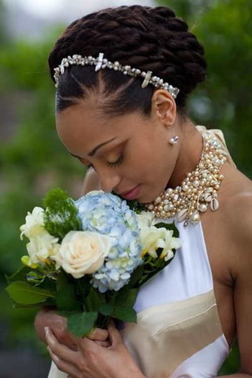 Admirable 20 Stunning Wedding Hairstyles For Black Women Hairstyle Inspiration Daily Dogsangcom