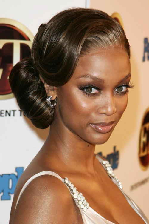 20 stunning wedding hairstyles for black women 7fancy side buns pmusecretfo Images