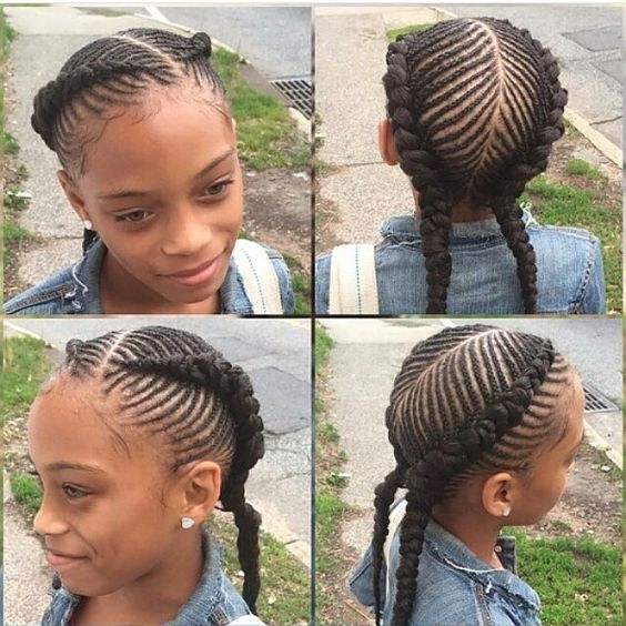 Groovy 20 Cute Hairstyles For Little Black Girls Hairstyle Inspiration Daily Dogsangcom