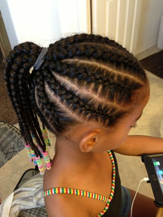 Cute Ponytail Hairstyles For Black Girls