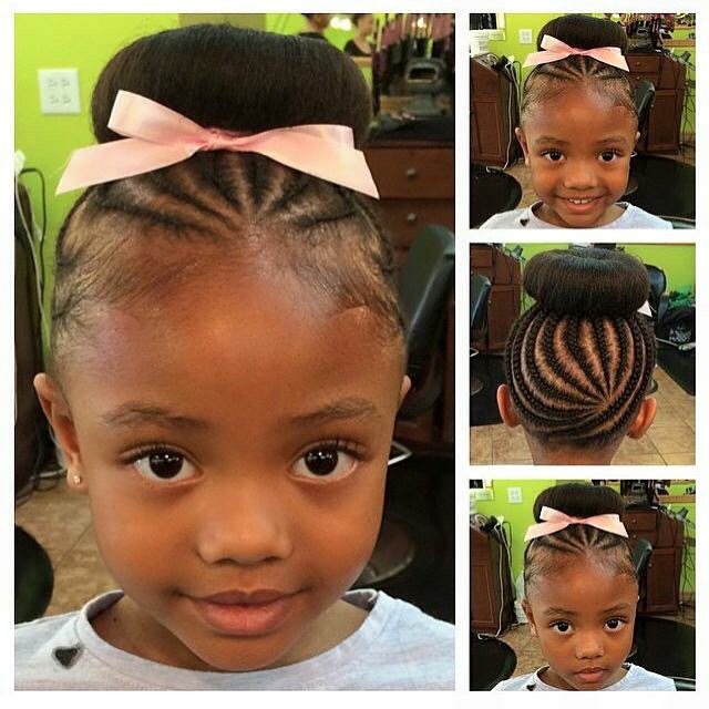 Peachy 20 Cute Hairstyles For Little Black Girls Hairstyle Inspiration Daily Dogsangcom