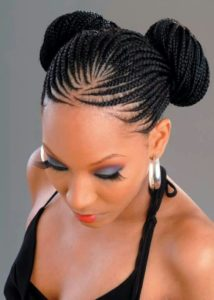 Double Bun Box Braids
