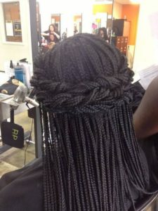 Princess Box Braids