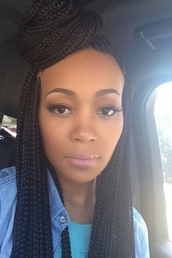 20 Stunning Box Braids Hairstyles Box Braids Inspiration