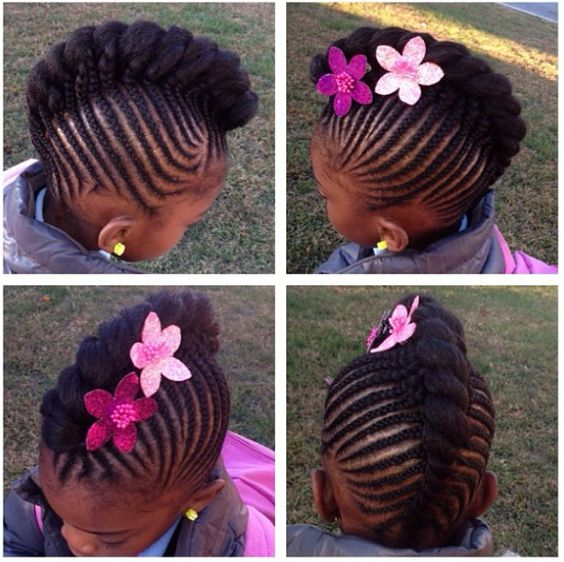 Little Girls Braid Hair Styles Classy 40 Braids For Kids 40 Braid Styles For Girls