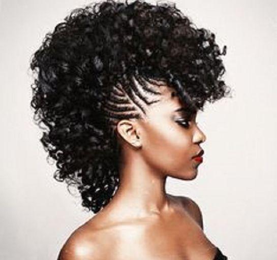Sensational 40 Mohawk Hairstyles For Black Women Short Hairstyles For Black Women Fulllsitofus