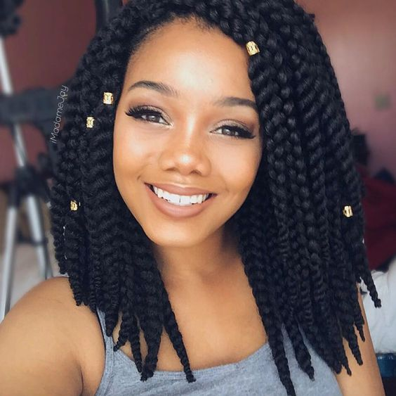 Cute Short Crochet Hairstyles : twists. These are perfect for the summer months because they are short ...