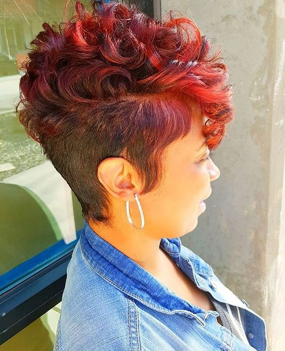 40 African American Short Hairstyles Part 9
