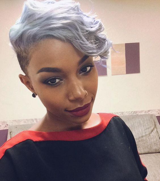 40 African American Short Hairstyles - Part 3