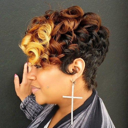 40 african american short hairstyles 16curly earth toned cut urmus Images