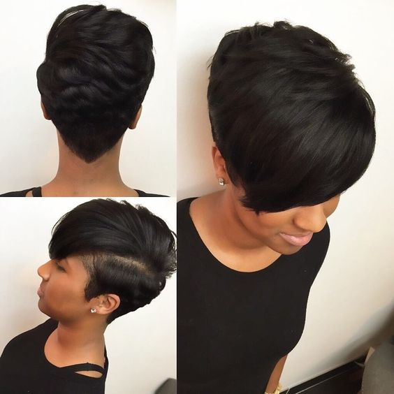 Excellent 40 Mohawk Hairstyles For Black Women Short Hairstyles For Black Women Fulllsitofus