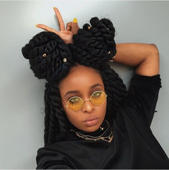 Crochet Braids Yourself : for this year have been hair jewels. Dress up your twists, braids ...