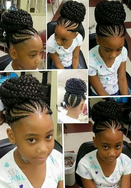 Peachy 40 Braids For Kids 40 Braid Styles For Girls Short Hairstyles For Black Women Fulllsitofus