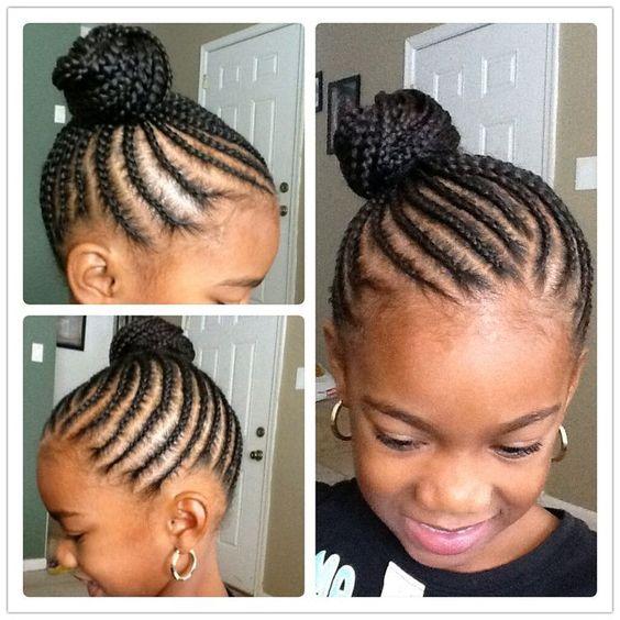 Amazing 40 Braids For Kids 40 Braid Styles For Girls Short Hairstyles For Black Women Fulllsitofus