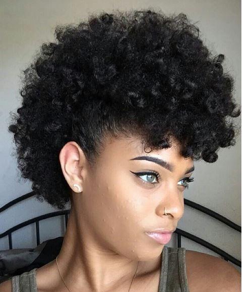 Astonishing 40 Mohawk Hairstyles For Black Women Short Hairstyles For Black Women Fulllsitofus