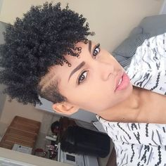 35 Short Curly Hairstyles For Black Women
