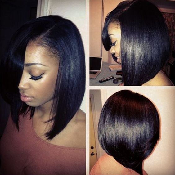 Chic And Versatile Sew In Styles You Should Definitely Try - Bob hairstyle sew in