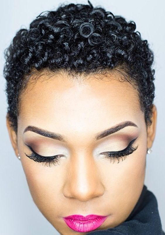 Excellent 40 Short Natural Hairstyles For Black Women Hairstyles For Women Draintrainus