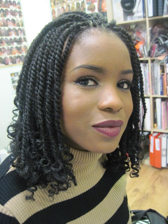 40 Kinky Twists Styles You Must Try