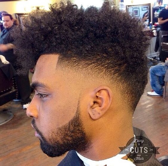22 Hairstyles Haircuts For Black Men: 40 Taper Fade Haircuts For Black Men