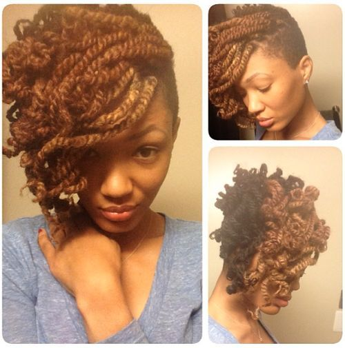 Groovy 40 Kinky Twists Styles You Must Try Short Hairstyles For Black Women Fulllsitofus