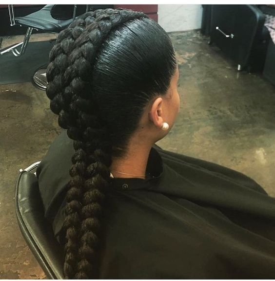 40 Super Hot Big Braids Styles