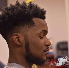 25 Cool Temp Fade Styles For Black Men