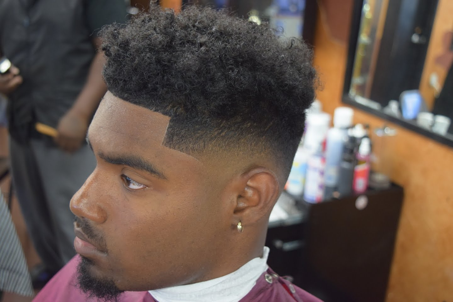 Black Men Hair Cut Styles: 25 Awesome High Top Fade Styles