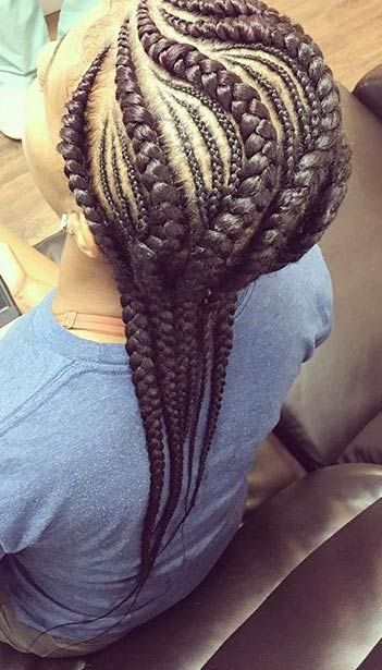 40 hip and beautiful ghana braids styles banana braids