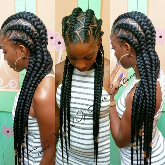 40 Hip and Beautiful Ghana Braids Styles | Banana Braids