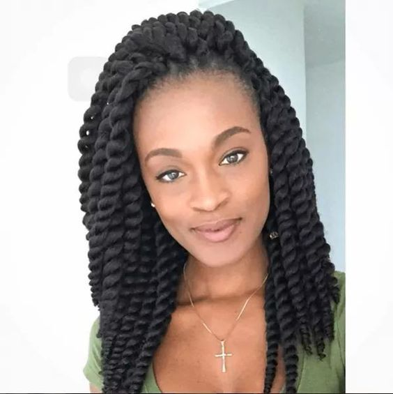 40 Gorgeous Havana Twist Hair Styles - Bun Hairstyles For Natural Hair