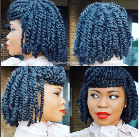 Two Strand Twist Styles That Are Super Easy To Do