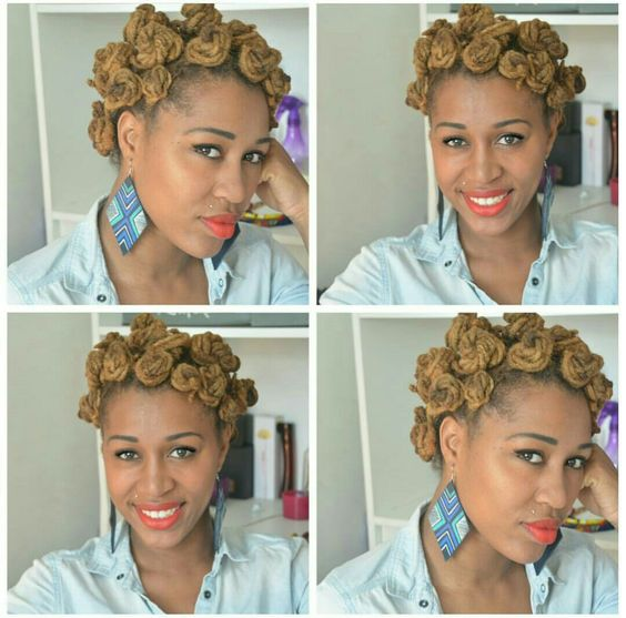 hair styles for a party bantu knots hairstyle inspiration 1067 | 06DreadlocksinBantuKnots