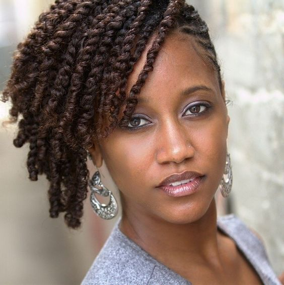 Two Strand Twist Styles That are Super Easy To Do!