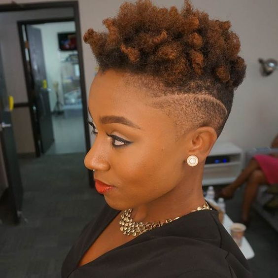 40 New And Trendy Natural Hair Styles
