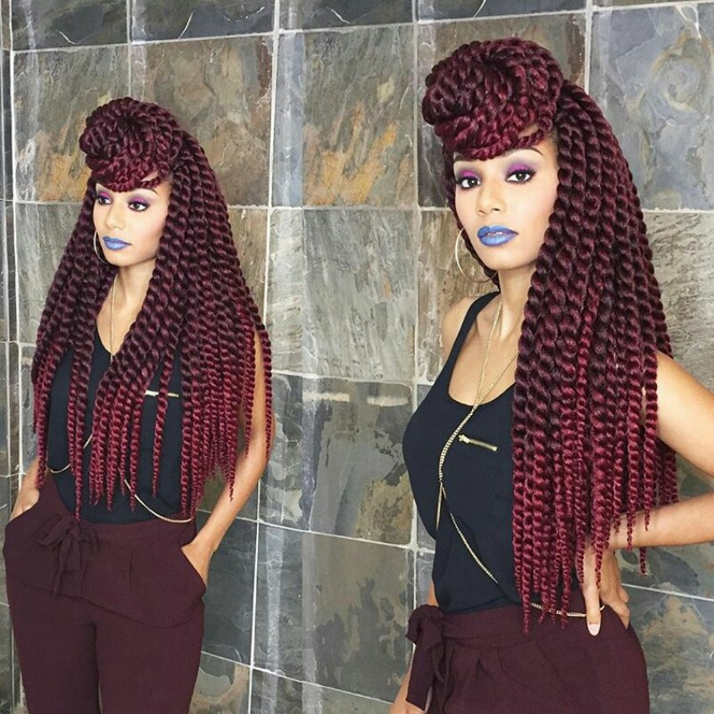 40 Crochet Braids With Human Hair For Your Inspiration