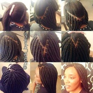 box braids tutorial