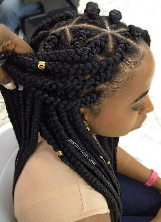 How To Do Box Braids Box Braids Braiding Tutorial