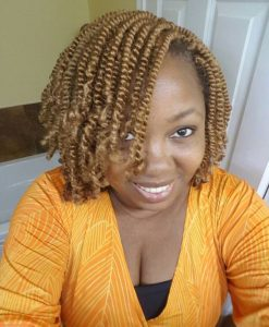 Blonde Kinky Twists