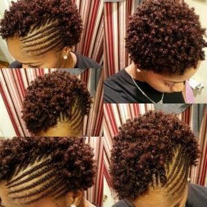 Cornrows and Finger Coils