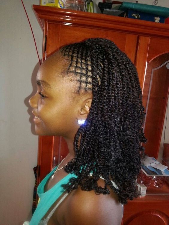 65 Kinky Twists Styles You Must Try Part 8