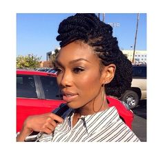 celebrity Senegalese twists