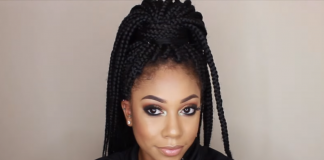 how to box braids