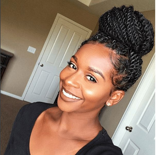 Chic and beautiful senegalese twists hairstyles 4twisted updo pmusecretfo Image collections