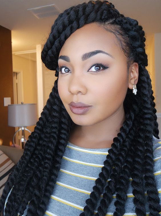 Chic and Beautiful Senegalese Twists Hairstyles