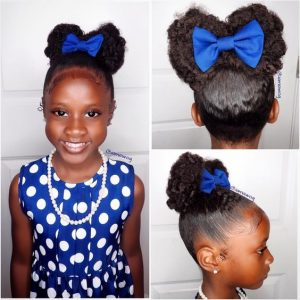 Bow Shaped Bun