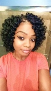 Chin Length Crochet Braids