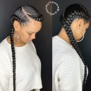 quasi halo feed in braids