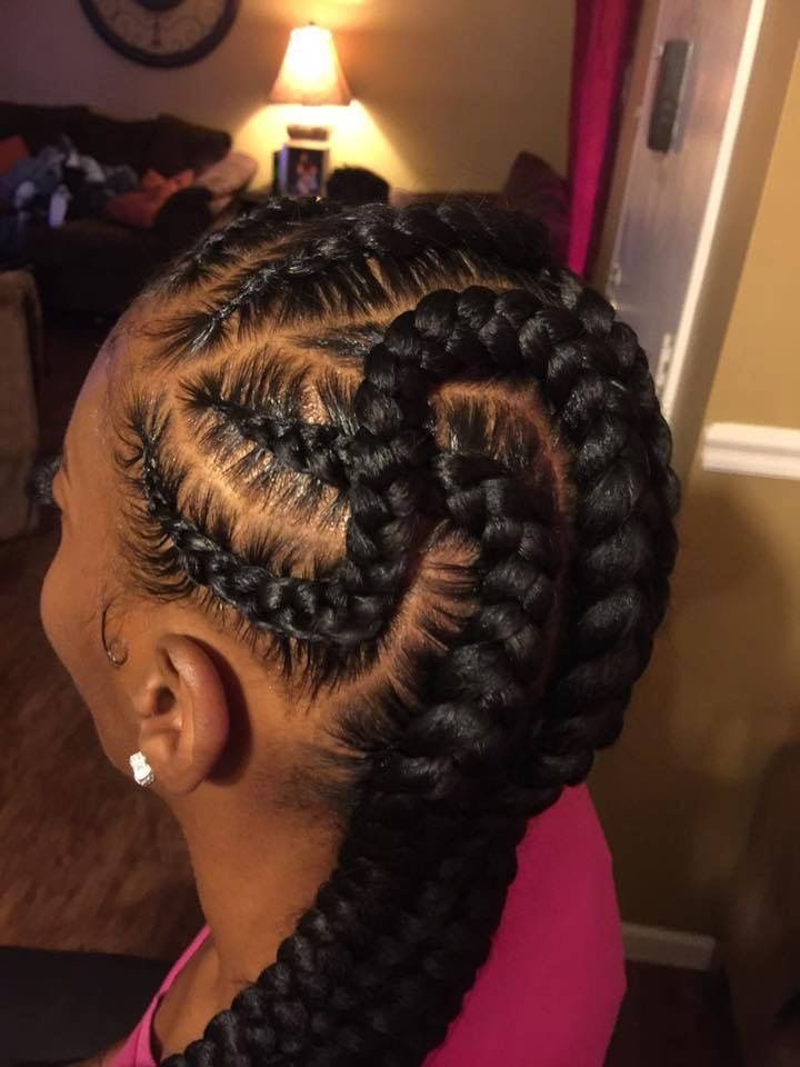 Absolutely Beautiful Feed Braid Hairstyles