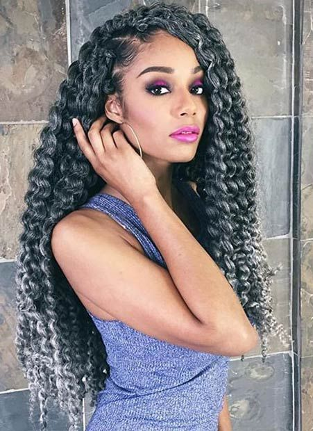 70 Crochet Braids Hairstyles and Pictures - Part 2